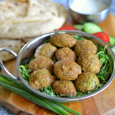 Baked Falafel (Air-Fryer)