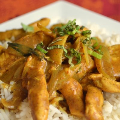 Quick and Easy Coconut Chicken Curry