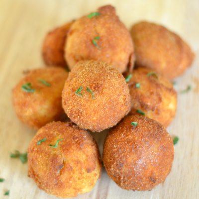Turkey and Potato Croquettes