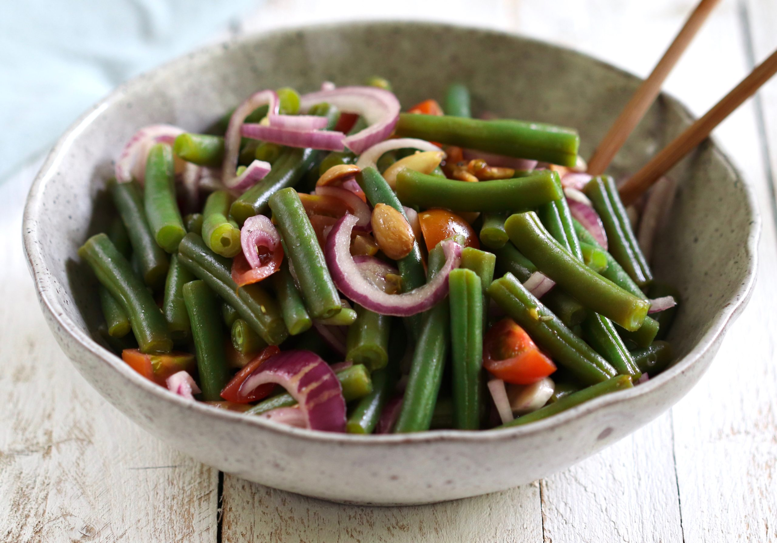Green Bean & Almond Salad